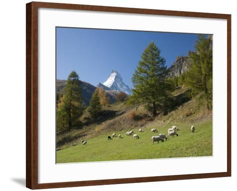 Zermatt, Valais, Swiss Alps, Switzerland, Europe-Angelo Cavalli-Framed Art Print