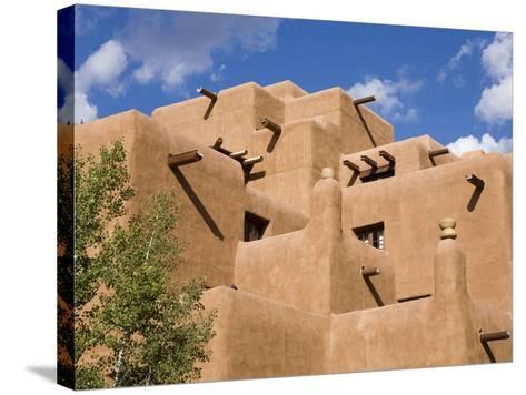 Loretto Inn in Santa Fe, New Mexico, United States of America, North America-Richard Cummins-Stretched Canvas Print