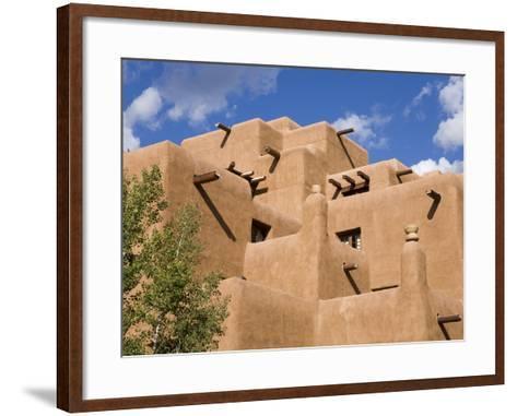 Loretto Inn in Santa Fe, New Mexico, United States of America, North America-Richard Cummins-Framed Art Print