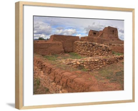 Pecos National Historical Park, Santa Fe, New Mexico, United States of America, North America-Richard Cummins-Framed Art Print