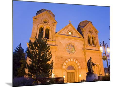 Cathedral Basilica of St. Francis of Assisi, Santa Fe, New Mexico, United States of America, North -Richard Cummins-Mounted Photographic Print