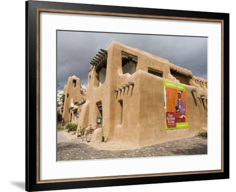 New Mexico Museum of Art, Santa Fe, New Mexico, United States of America, North America-Richard Cummins-Framed Art Print