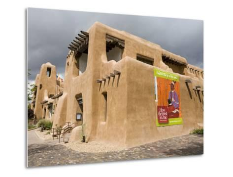New Mexico Museum of Art, Santa Fe, New Mexico, United States of America, North America-Richard Cummins-Metal Print