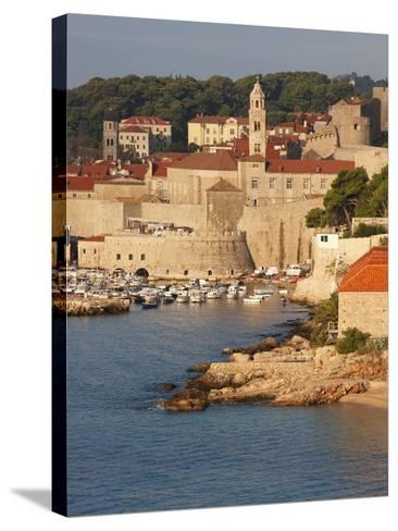 Old Town in Early Morning Light, UNESCO World Heritage Site, Dubrovnik, Croatia, Europe-Martin Child-Stretched Canvas Print