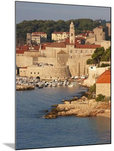 Old Town in Early Morning Light, UNESCO World Heritage Site, Dubrovnik, Croatia, Europe-Martin Child-Mounted Photographic Print