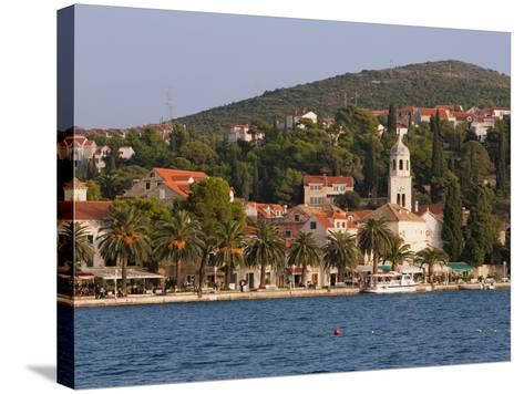 The Waterfront, Cavtat, Dalmatia, Croatia, Europe-Martin Child-Stretched Canvas Print