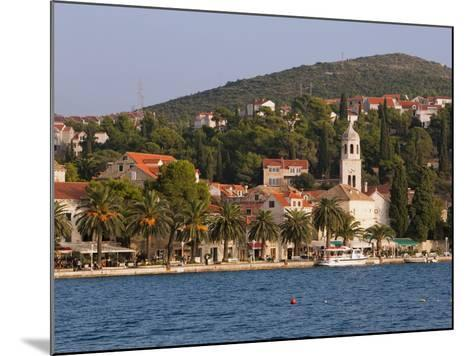 The Waterfront, Cavtat, Dalmatia, Croatia, Europe-Martin Child-Mounted Photographic Print