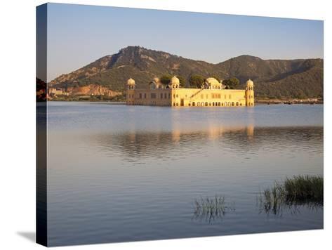 The Jai Mahal (Lake Palace), Jaipur, Rajasthan, India-Gavin Hellier-Stretched Canvas Print