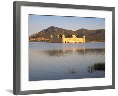 The Jai Mahal (Lake Palace), Jaipur, Rajasthan, India-Gavin Hellier-Framed Art Print