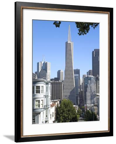 Trans America Building, San Francisco, California, United States of America, North America-Gavin Hellier-Framed Art Print