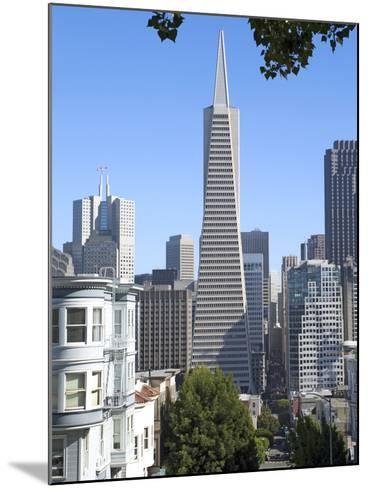 Trans America Building, San Francisco, California, United States of America, North America-Gavin Hellier-Mounted Photographic Print