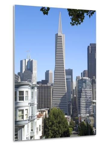 Trans America Building, San Francisco, California, United States of America, North America-Gavin Hellier-Metal Print