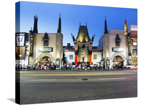 Grauman's Chinese Theatre, Hollywood Boulevard, Los Angeles, California, United States of America, -Gavin Hellier-Stretched Canvas Print