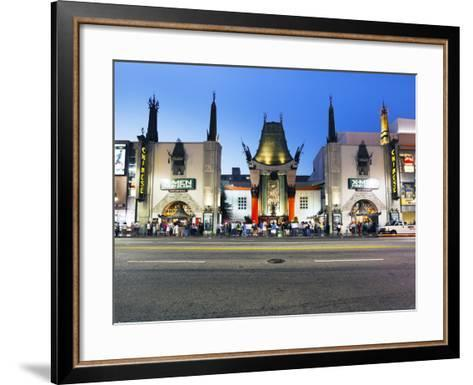 Grauman's Chinese Theatre, Hollywood Boulevard, Los Angeles, California, United States of America, -Gavin Hellier-Framed Art Print