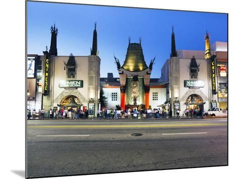 Grauman's Chinese Theatre, Hollywood Boulevard, Los Angeles, California, United States of America, -Gavin Hellier-Mounted Photographic Print