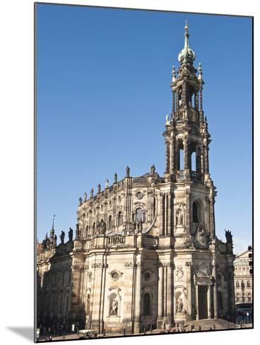 The Hofkirche (Church of the Court), Dresden, Saxony, Germany, Europe-Michael DeFreitas-Mounted Photographic Print