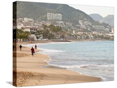 Puerto Vallarta Beach, Puerto Vallarta, Jalisco, Mexico, North America-Michael DeFreitas-Stretched Canvas Print