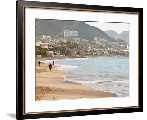 Puerto Vallarta Beach, Puerto Vallarta, Jalisco, Mexico, North America-Michael DeFreitas-Framed Art Print