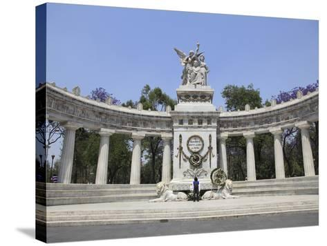 Hemiciclo a Juarez (Benito Juarez Monument), Alameda, Mexico City, Mexico, North America-Wendy Connett-Stretched Canvas Print