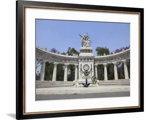 Hemiciclo a Juarez (Benito Juarez Monument), Alameda, Mexico City, Mexico, North America-Wendy Connett-Framed Art Print