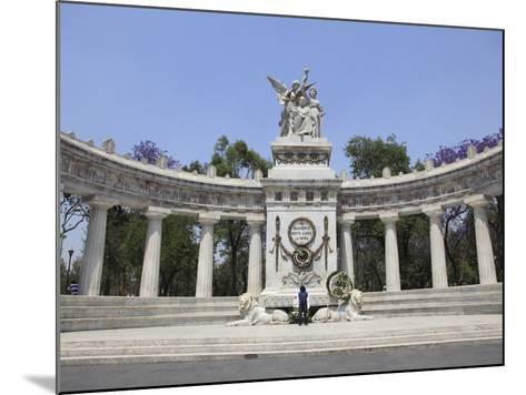 Hemiciclo a Juarez (Benito Juarez Monument), Alameda, Mexico City, Mexico, North America-Wendy Connett-Mounted Photographic Print