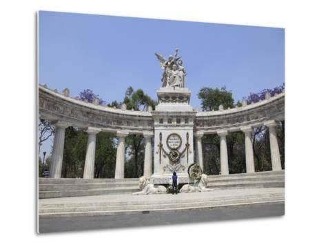 Hemiciclo a Juarez (Benito Juarez Monument), Alameda, Mexico City, Mexico, North America-Wendy Connett-Metal Print