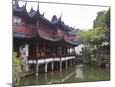 Yanshan Hall, Yu Yuan (Yuyuan) Gardens, Shanghai, China, Asia-Amanda Hall-Mounted Photographic Print