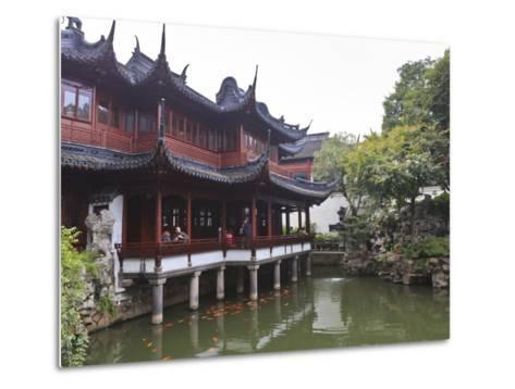 Yanshan Hall, Yu Yuan (Yuyuan) Gardens, Shanghai, China, Asia-Amanda Hall-Metal Print