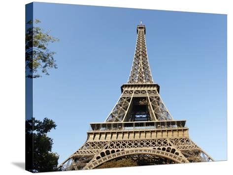 Eiffel Tower, Paris, France, Europe-Godong-Stretched Canvas Print