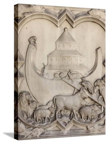 Noah's Ark, Sainte-Chapelle, Paris, France, Europe-Godong-Stretched Canvas Print