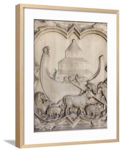 Noah's Ark, Sainte-Chapelle, Paris, France, Europe-Godong-Framed Art Print