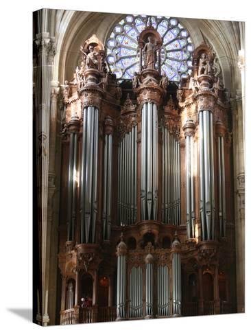 Master Organ, Saint-Eustache Church, Paris, France, Europe-Godong-Stretched Canvas Print