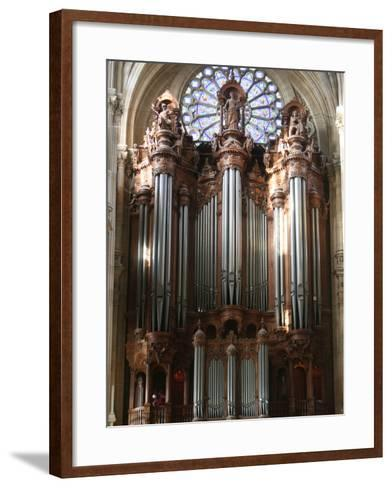 Master Organ, Saint-Eustache Church, Paris, France, Europe-Godong-Framed Art Print