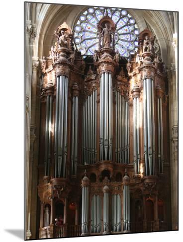 Master Organ, Saint-Eustache Church, Paris, France, Europe-Godong-Mounted Photographic Print