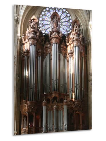 Master Organ, Saint-Eustache Church, Paris, France, Europe-Godong-Metal Print