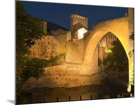 Stari Most (Old Bridge), UNESCO World Heritage Site, Mostar, Municipality of Mostar, Bosnia and Her-Emanuele Ciccomartino-Mounted Photographic Print