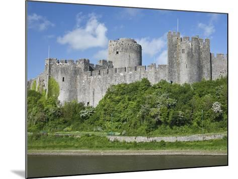 Pembroke Castle in Pembroke, Pembrokeshire, Wales, United Kingdom, Europe-David Clapp-Mounted Photographic Print