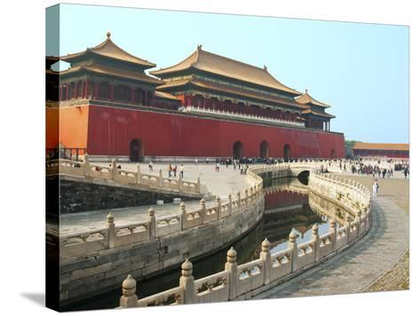 River of Gold, Forbidden City, Beijing, China, Asia-Kimberly Walker-Stretched Canvas Print