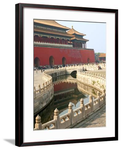 River of Gold, Forbidden City, Beijing, China, Asia-Kimberly Walker-Framed Art Print