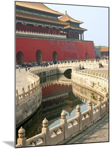 River of Gold, Forbidden City, Beijing, China, Asia-Kimberly Walker-Mounted Photographic Print
