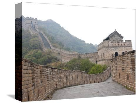 Great Wall of China, UNESCO World Heritage Site, Mutianyu, China, Asia-Kimberly Walker-Stretched Canvas Print