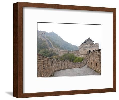 Great Wall of China, UNESCO World Heritage Site, Mutianyu, China, Asia-Kimberly Walker-Framed Art Print