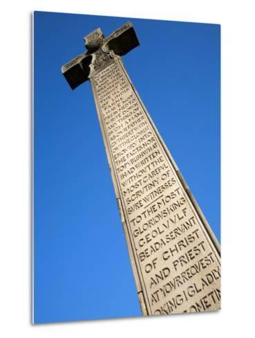 Bedes Memorial Cross, Roker, Sunderland, Tyne and Wear, England, United Kingdom, Europe-Mark Sunderland-Metal Print