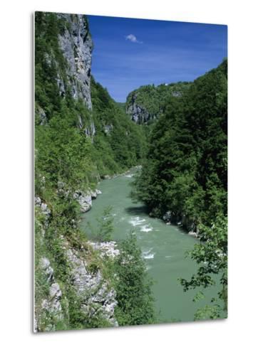 Tara Canyon and Tara River, Tramontana, Montenegro, Europe-Stuart Black-Metal Print