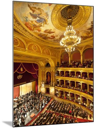State Opera House (Magyar Allami Operahaz) with Budapest Philharmonic Orchestra, Budapest, Central -Stuart Black-Mounted Photographic Print
