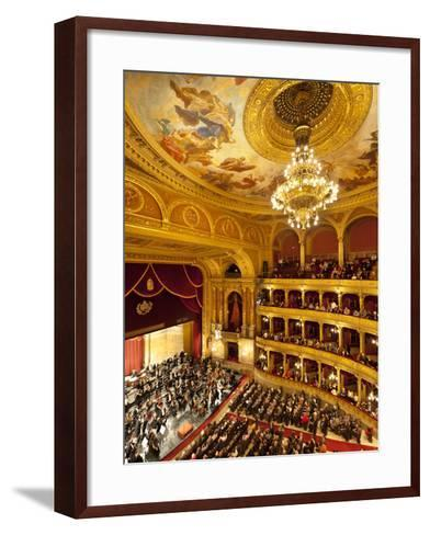 State Opera House (Magyar Allami Operahaz) with Budapest Philharmonic Orchestra, Budapest, Central -Stuart Black-Framed Art Print