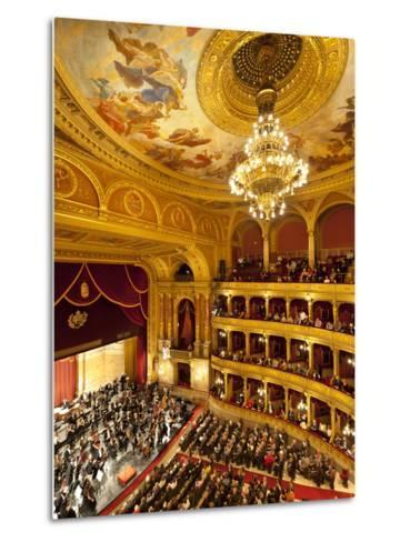 State Opera House (Magyar Allami Operahaz) with Budapest Philharmonic Orchestra, Budapest, Central -Stuart Black-Metal Print