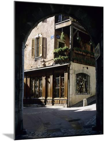 Archway in the Old Town, Annecy, Lake Annecy, Rhone Alpes, France, Europe-Stuart Black-Mounted Photographic Print
