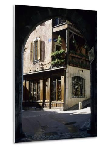 Archway in the Old Town, Annecy, Lake Annecy, Rhone Alpes, France, Europe-Stuart Black-Metal Print