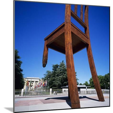 Place Des Nations and the Palais Des Nations, Geneva, Switzerland, Europe-Stuart Black-Mounted Photographic Print